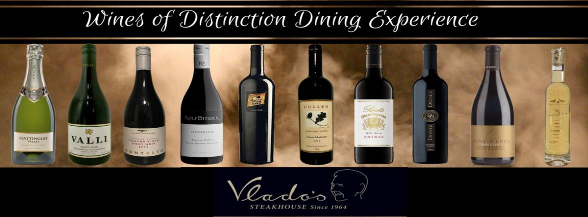 Wines of Distinction Dining Experience