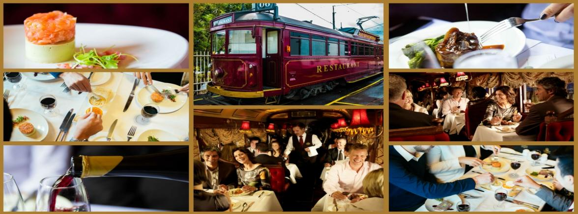 Pinot Noir Dining Experience on the Tramcar Restaurant